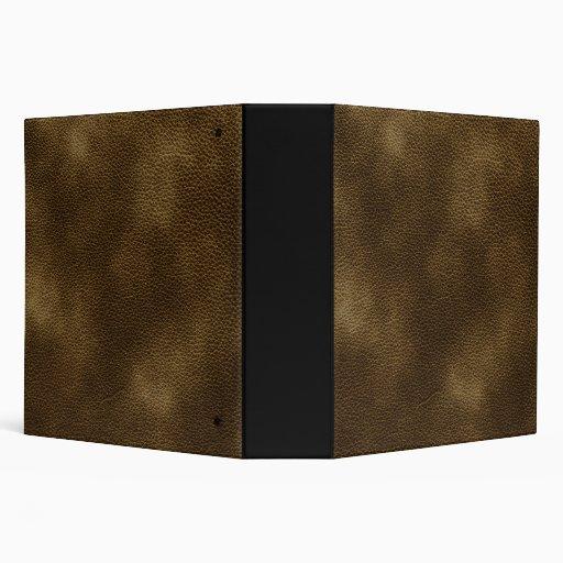 """Imagen del cuero de Brown Carpeta 2"""""""