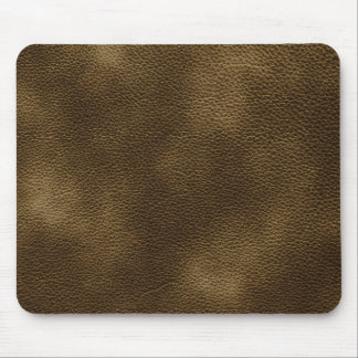 Imagen del cuero de Brown Mousepads