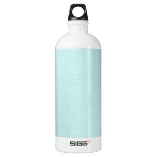 Imagen del cuero ligero de la turquesa botella de agua