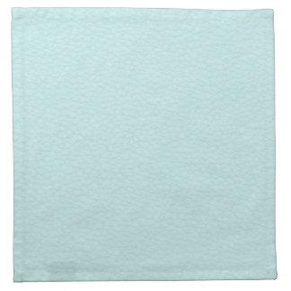 Imagen del cuero ligero de la turquesa servilleta de papel
