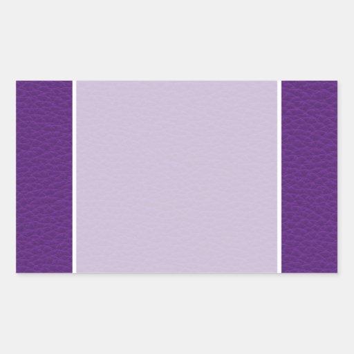 Imagen del cuero púrpura rectangular altavoces