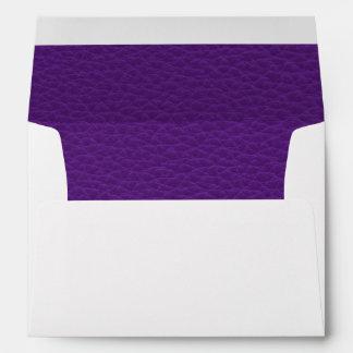 Imagen del cuero púrpura