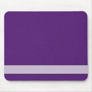 Imagen del cuero púrpura alfombrilla de raton