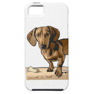 Imagen del Dachshund iPhone 5 Case-Mate Cárcasa