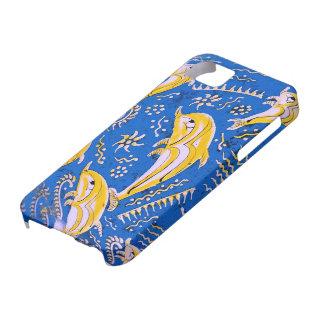 Imagen del delfín para iPhone-5-5S-Barely-There Funda Para iPhone SE/5/5s