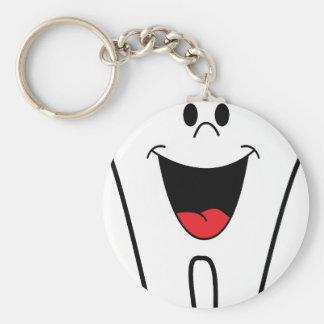 Imagen del dentista llavero redondo tipo pin