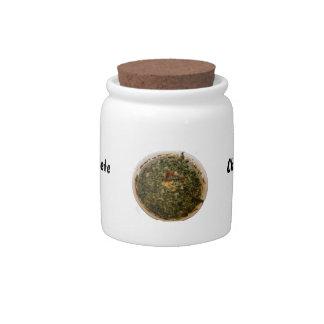imagen del diseño de la foto de la inmersión de la jarras para caramelos