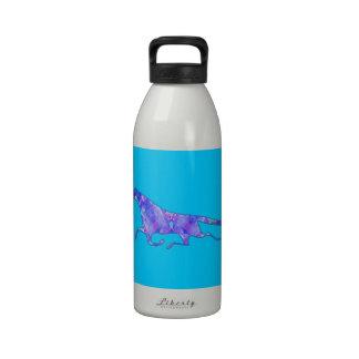 Imagen del diseño del caballo del caleidoscopio botallas de agua