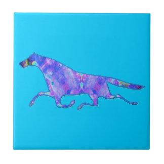 Imagen del diseño del caballo del caleidoscopio azulejos cerámicos