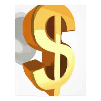 Imagen del dólar plantillas de membrete