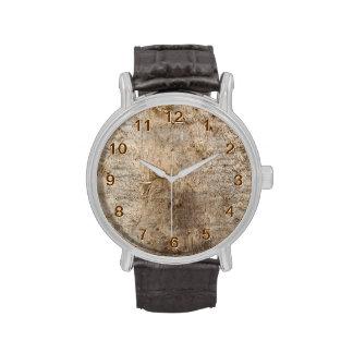 Imagen del Driftwood Imagen de la madera resistid Relojes