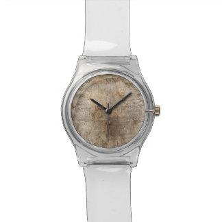 Imagen del Driftwood Imagen de la madera resistid Relojes De Mano