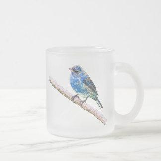 Imagen del empavesado de añil taza de café