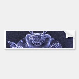 Imagen del escarabajo de hoja - microscopio electr pegatina para auto