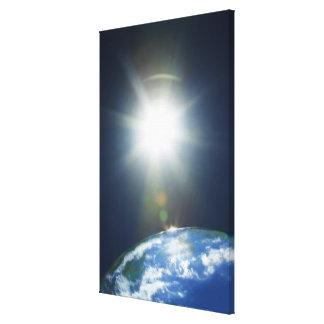 imagen del espacio 2 lienzo envuelto para galerias