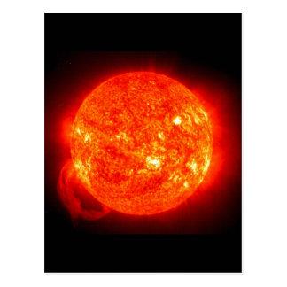 Imagen del espacio de Sun Postales