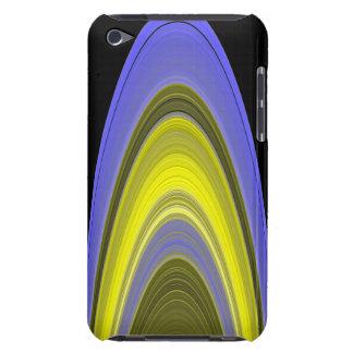 imagen del Falso-color de los anillos de Saturn iPod Case-Mate Protectores