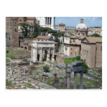 Imagen del foro romano postal