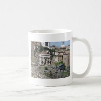 Imagen del foro romano tazas de café