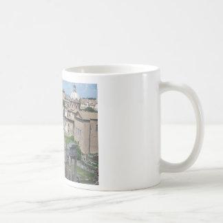 Imagen del foro romano taza clásica