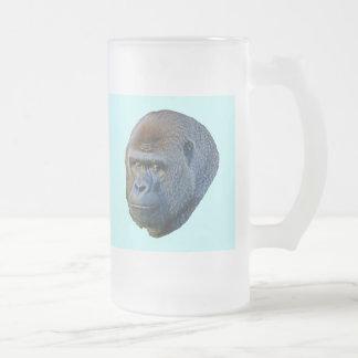 Imagen del gorila jarra de cerveza esmerilada
