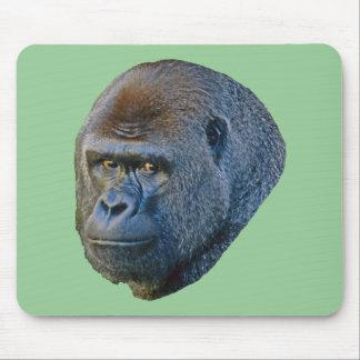 Imagen del gorila alfombrillas de ratón