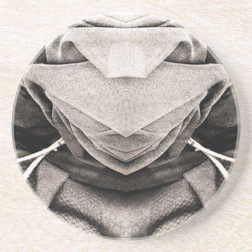 Imagen del gorra en sombras del gris posavaso para bebida