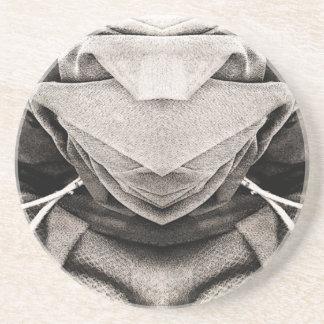 Imagen del gorra en sombras del gris posavasos para bebidas