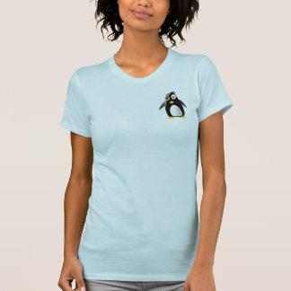 Imagen del linux del tux del pingüino camisetas