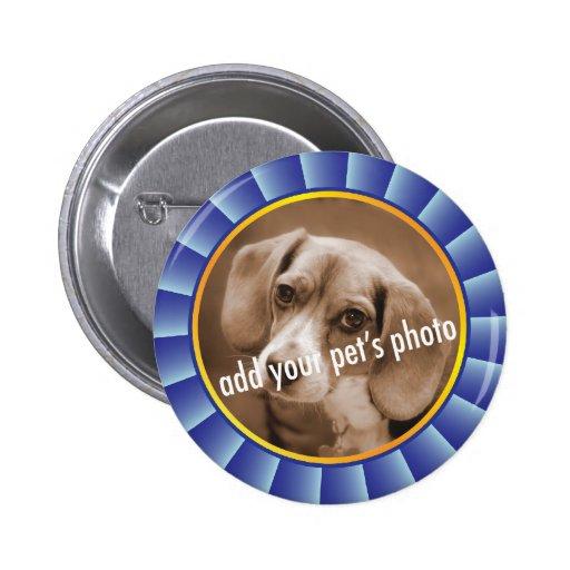 Imagen del mascota de Blue Ribbon Pin