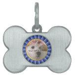 Imagen del mascota de Blue Ribbon Placas De Nombre De Mascota