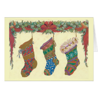 Imagen del navidad del vintage tarjetas