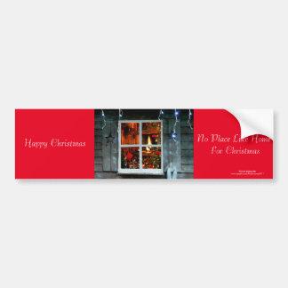 Imagen del navidad para la pegatina para el pegatina para auto