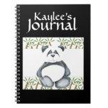 Imagen del oso de panda libros de apuntes