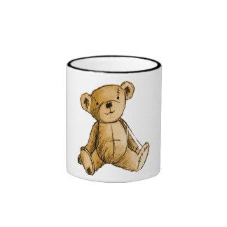 Imagen del oso de peluche para la taza