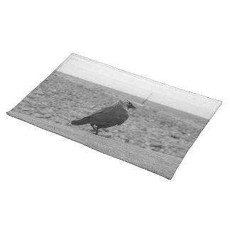 Imagen del pájaro. Grajo Mantel Individual