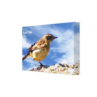 Imagen del pájaro para la Envolver-Lona de Impresión En Lienzo
