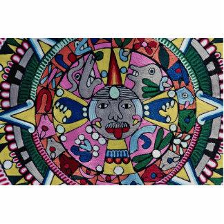 Imagen del paño tejido, diseño mexicano, Cuernavac Escultura Fotográfica