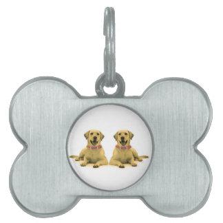 Imagen del perro para la etiqueta del mascota del placas de mascota