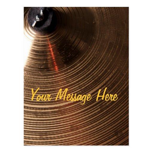 Imagen del platillo del tambor o del batería postal