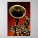 Imagen del poster de la trompeta de una trompeta