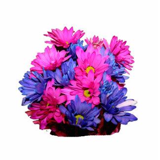 Imagen del ramo de la flor de la margarita rosada escultura fotografica