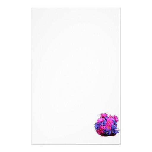 Imagen del ramo de la flor de la margarita rosada  papelería