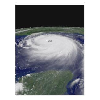 Imagen del satélite de Katrina del huracán Postal