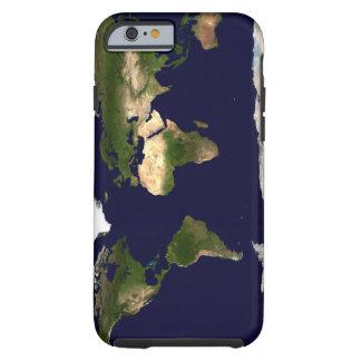 Imagen del satélite de tierra funda para iPhone 6 tough