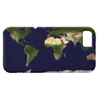 Imagen del satélite de tierra iPhone 5 cárcasas