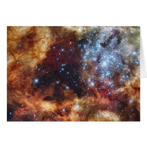 Imagen del telescopio de Hubble Tarjeta De Felicitación