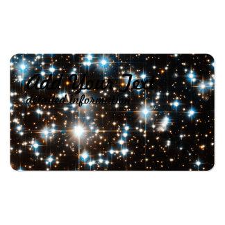 Imagen del telescopio espacial de Hubble del racim Tarjeta De Visita