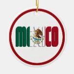 Imagen del texto de la bandera de México