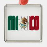 Imagen del texto de la bandera de México Ornamentos De Reyes